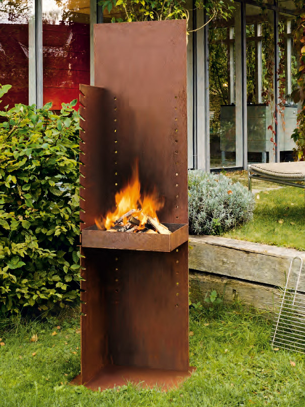 feuer im garten kleinster mobiler gasgrill. Black Bedroom Furniture Sets. Home Design Ideas