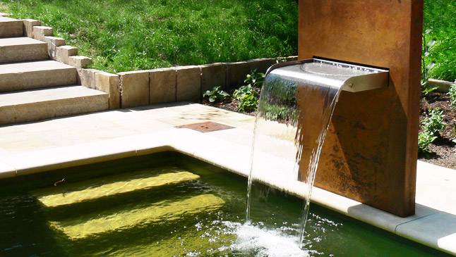 Galerie Wasserspiele von Michael Krauss. Wasser im Garten